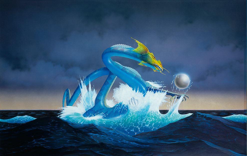 Asia Dragon - Roger Dean