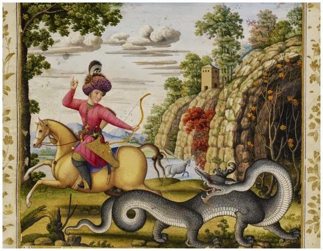 Sirrush Dragon, Ishtar Gate, Babylon