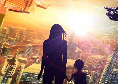 D.M. Pruden – Near Future Science Fiction
