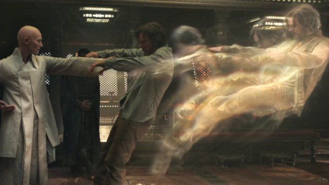 Doctor Strange pushed out of body