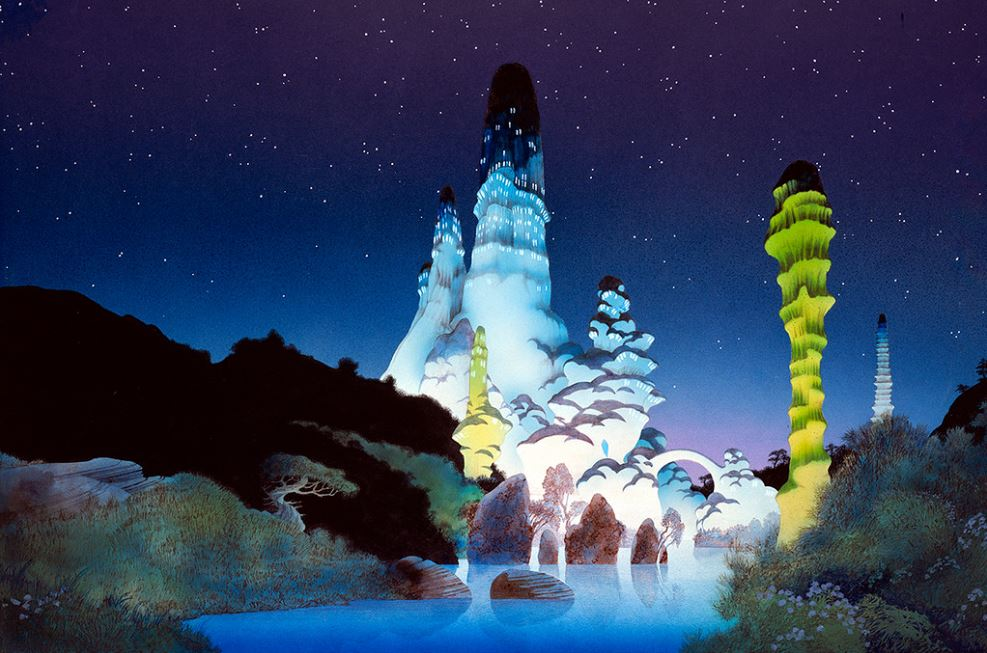 Green Towers - Roger Dean