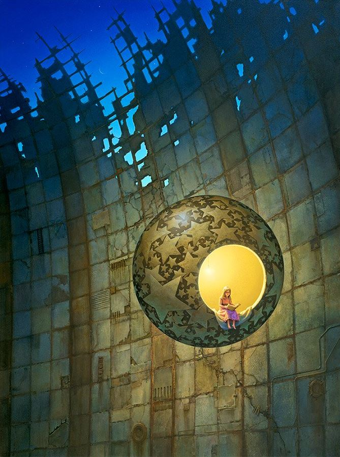 In a World of Her Own - Michael Whelan