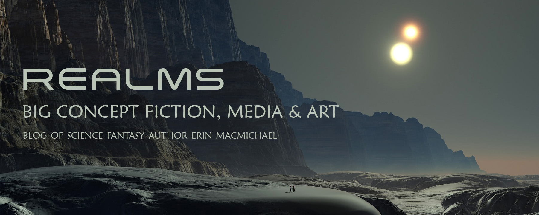 Realms: Blog of Science Fantasy Author Erin MacMichael