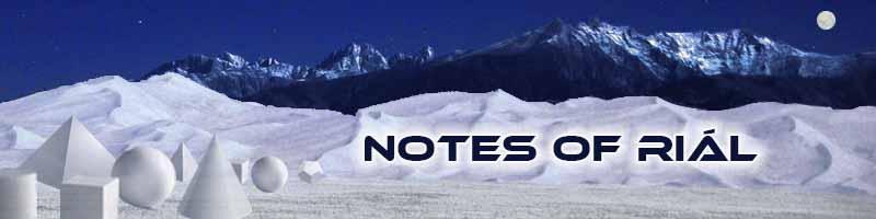 NOTES OF RIÁL