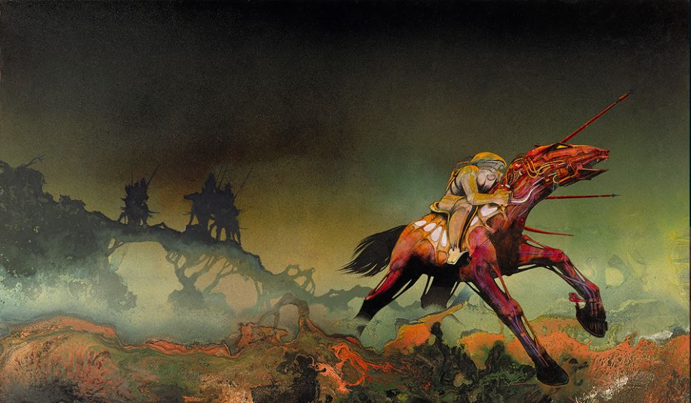 Paladin Charge - Roger Dean